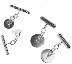 Chain & Barrel Cufflinks